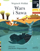 Wars i Sawa Czytam sobie Poziom 1 - Wojciech Widłak | mała okładka