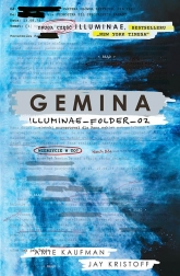 Gemina. Illuminae Folder_02  -  Amie Kaufman, Jay Kristoff  | mała okładka