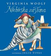 Niebieska zasłona - Virginia Woolf  | mała okładka