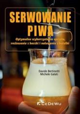 Serwowanie piwa - Davide Bertinotti; Michele Galati | mała okładka