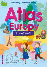 Atlas Europy z naklejkami  -  Opracowanie Zbiorowe | mała okładka