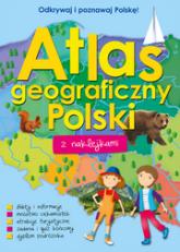 Atlas geograficzny Polski z naklejkami -  Opracowanie Zbiorowe | mała okładka