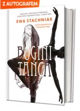 Bogini Tańca z autografem - Ewa Stachniak | mała okładka