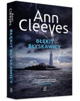 Błękit błyskawicy - Ann Cleeves | mała okładka