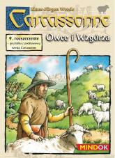 Carcassonne - Owce i Wzgórza - rozszerzenie do gry planszowej - Klaus-Jürgen Wrede | mała okładka