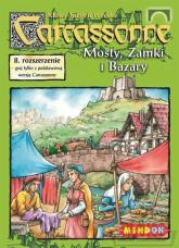 Carcassonne - Mosty Zamki i Bazary - rozszerzenie do gry planszowej - Klaus-Jürgen Wrede | mała okładka