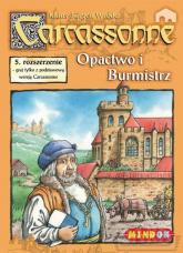 Carcassonne - Opactwo i Burmistrz - rozszerzenie do gry planszowej - Klaus-Jürgen Wrede | mała okładka