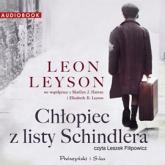 Chłopiec z listy Schindlera. Audiobook - Leon Leyson | mała okładka