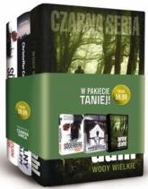Pakiet Czarna Seria II. Andaluzyjski przyjaciel + Niewidzialny człowiek z Salem + Wody wielkie - Soderberg Alexander, Carlsson Christoffer, Da | mała okładka