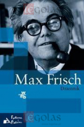 Dziennik - Max Frisch | mała okładka