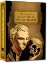 Romeo i Julia Hamlet Makbet z opracowaniem - William Szekspir | mała okładka