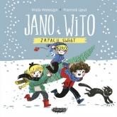 Jano i Wito zapach świąt - Wiola Wołoszyn | mała okładka