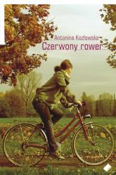 Czerwony rower - Antonina Kozłowska  | mała okładka