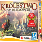 Królestwo w budowie - gra planszowa -  | mała okładka