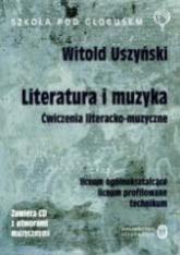 J.p Ćwiczenia liter-muzyczne LO (+2 CD gratis!) - Witold Uszyński | mała okładka