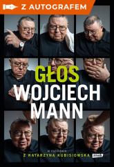 Głos. Wojciech Mann -autograf - Wojciech Mann | mała okładka