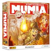 Mumia - wyścig w bandażach - gra planszowa -  | mała okładka