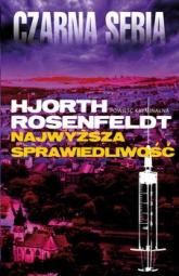 Najwyższa sprawiedliwość - Hans Rosenfeldt, Michael Hjorth | mała okładka