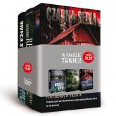 Pakiet 3 książek. Kobiece kryminały. Na spokojnych wodach+ Niewidzialny strażnik+ Pod ziemią w Villette - Viveca Sten, Dolores Redondo, Ingrid Herdstor | mała okładka