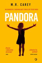 Pandora - M.R. Carey | mała okładka