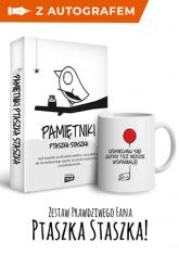 Pamiętniki Ptaszka Staszka - autograf - Piotr Jedliński   mała okładka