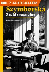 Szymborska. Znaki szczególne - autograf - Gromek-Illg Joanna   mała okładka