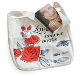 "Torba bawełniania ""Love Summer Books"" -  | mała okładka"