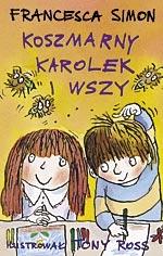 Koszmarny Karolek i wszy - Francesca Simon  | mała okładka