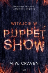 Witajcie w Puppet Show - M.W. Craven | mała okładka