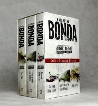 Katarzyna Bonda. Pakiet 3 książek - Sprawa Niny Frank / Florystka / Tylko martwi nie kłamią - Katarzyna Bonda | mała okładka