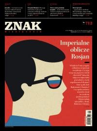 """Miesięcznik """"ZNAK"""", wrzesień 2014, nr 712 -    mała okładka"""