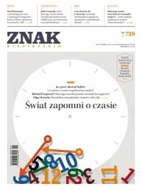 """Miesięcznik """"Znak"""", styczeń 2016, nr 728 -    mała okładka"""