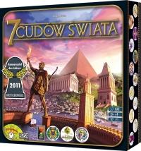 7 Cudów Świata - gra planszowa -  | mała okładka