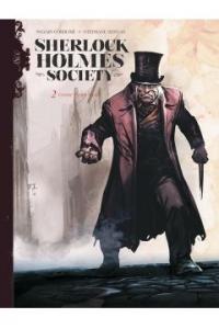 Sherlock Holmes Society T.2 Czarne są ich dusze - Sylvain Corduri  Stéphane Bervas | mała okładka