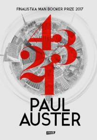 4 3 2 1 - Paul Auster | mała okładka