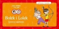 Bolek i Lolek. Łowcy tajemnic - (Zabawa i nauka) - Elżbieta Lekan   mała okładka
