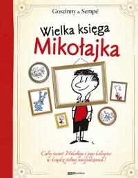 Wielka księga Mikołajka - Goscinny & Sempé   mała okładka