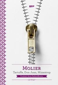 Tartuffe, Don Juan, Mizantrop -  Molier | mała okładka