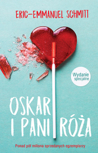 Oskar i Pani Róża. Wydanie specjalne - Eric-Emmanuel Schmitt   mała okładka