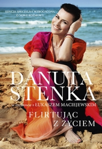 Flirtując z życiem - Danuta Stenka  | mała okładka