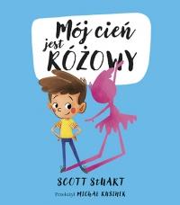 Mój cień jest różowy - Stuart Scott | mała okładka
