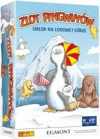 Zlot pingwinów - gra planszowa  - Christoph Puhl, Arno Steinwender   mała okładka