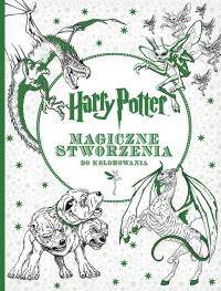 Harry Potter. Magiczne stworzenia do kolorowania - Opracowanie zbiorowe | mała okładka