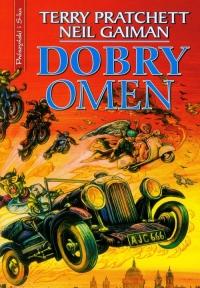 Dobry omen - Terry Pratchett, Neil Gaiman  | mała okładka