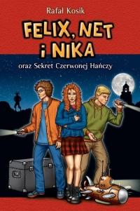 Felix, Net i Nika oraz Sekret Czerwonej Hańczy - Rafał Kosik | mała okładka