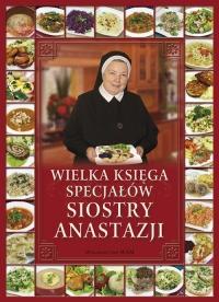 Wielka księga specjałów Siostry Anastazji - Anastazja Pustelnik   mała okładka