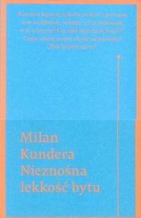 Nieznośna lekkość bytu - Milan Kundera | mała okładka