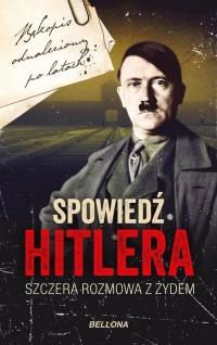 Spowiedź Hitlera. Szczera rozmowa z Żydem - Christopher Macht   mała okładka