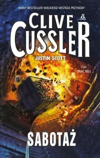 Sabotaż - Clive Cussler, Justin Scott | mała okładka