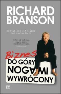 Biznes do góry nogami wywrócony - Richard Branson | mała okładka